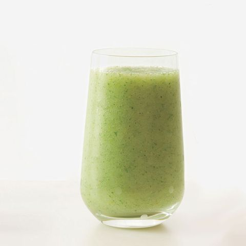 minty pear honeydew smoothie