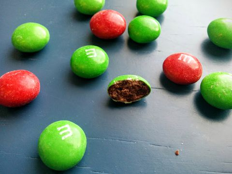 What Cafe Mocha M&Ms Look Like