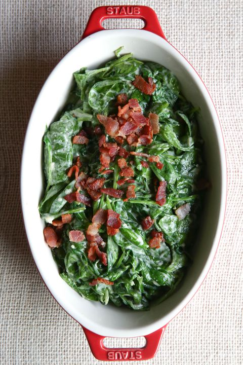 bătut Bacon Spinach Vertical