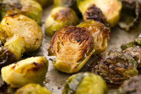 Печен Brussels Sprouts