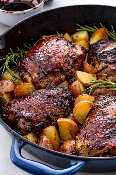 balsamico Glazed Chicken Vertical