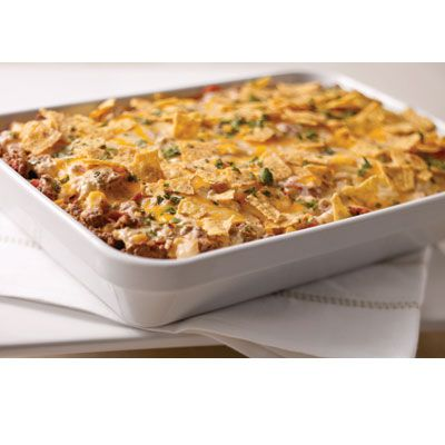 Tex mex Beef and Rice Casserole