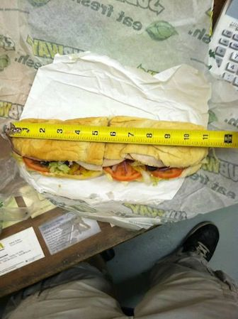 Subway Sandwich Foot-Long