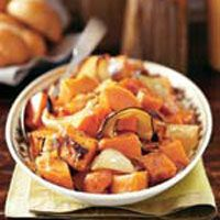 Inspirat by the South, these honey-glazed yams are a tasty Thanksgiving side dish.