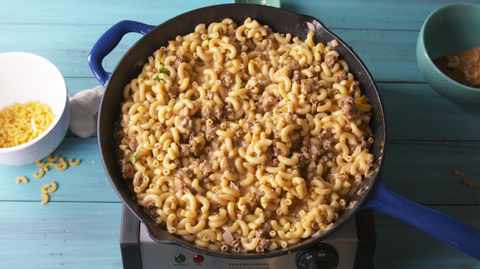 Cheeseburger Mac & Cheese 2