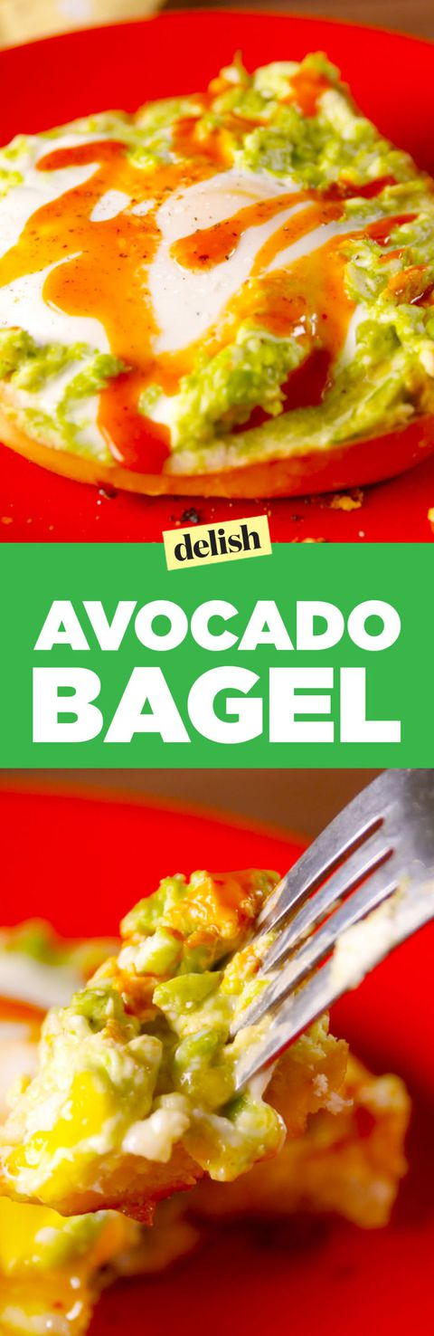 Avocado Bagel Pinterest
