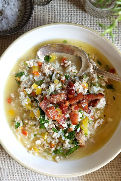 Peru and Rice Vegetable Soup Recipe