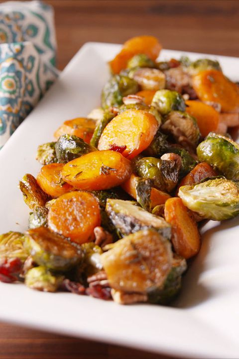 Holiday Roasted Vegetables Vertical