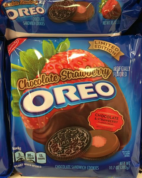 Czekolada covered strawberry oreo
