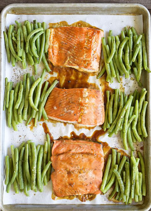 Teriyaki Glazed Salmon Vertical