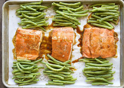Teriyaki Glazed Salmon Horizontal