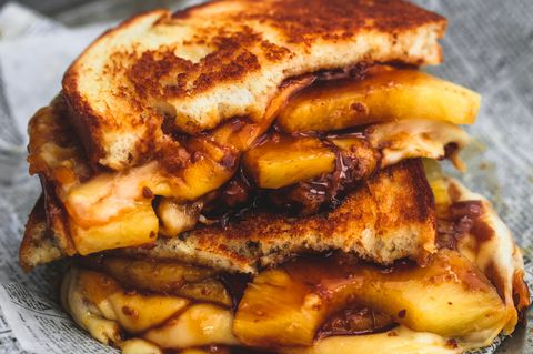 Hawaiian Grilled Cheese Horizontal