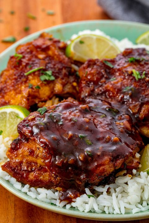 Langzaam Cooker Chicken Thighs Vertical