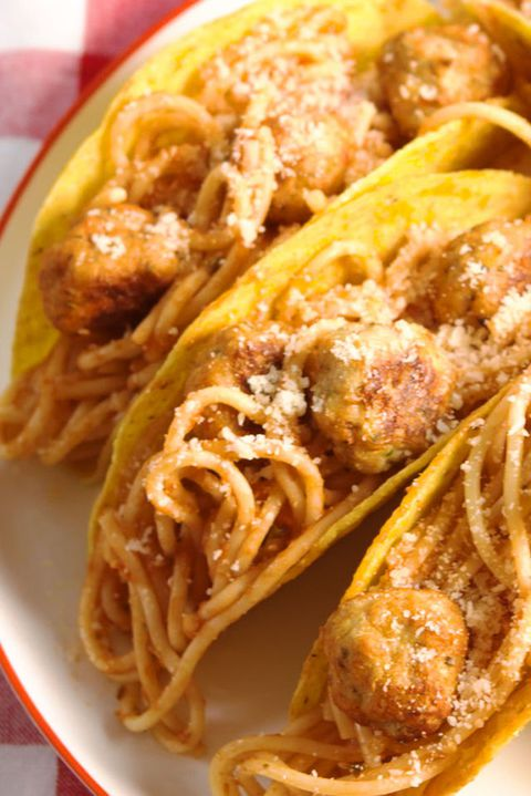 spagetti & Meatball Tacos Vertical