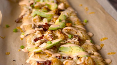 Californië Chicken Flatbread